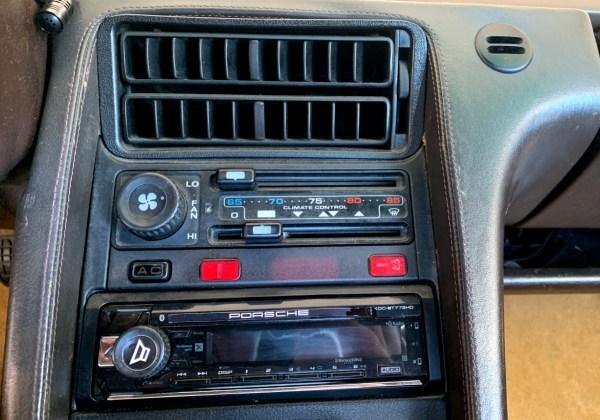 1985 Porsche 928S Air Conditioning