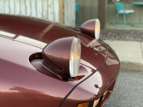1985 Porsche 928S Headlights
