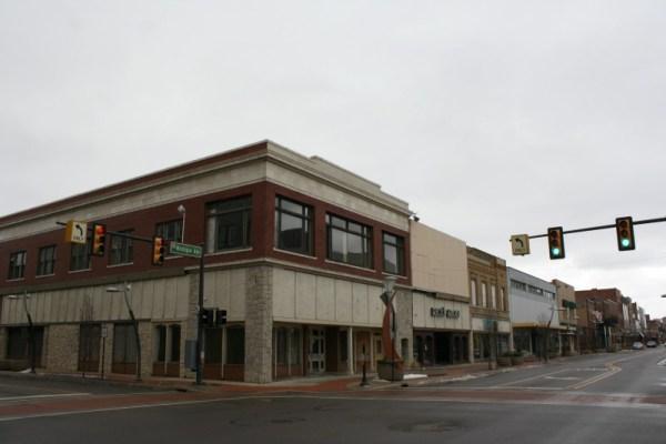 Downtown Battle Creek, Michigan.