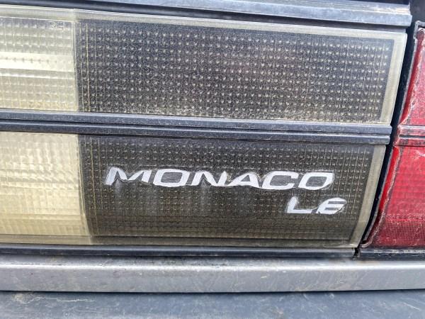 1991 Dodge Monaco LE