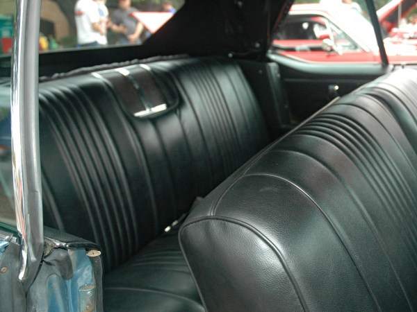 1967 Oldsmobile Delmont 88 convertible interior