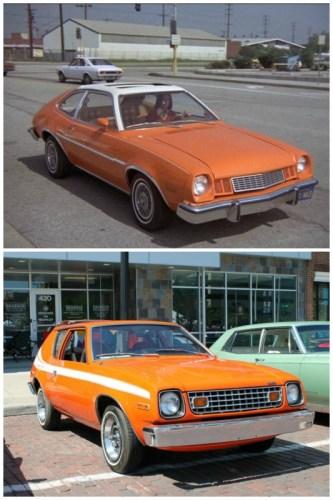 1977 Ford Pinto & 1977 AMC Gremlin.