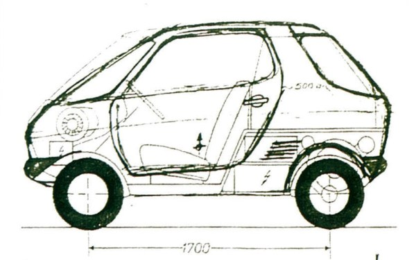 The original Swatch car design