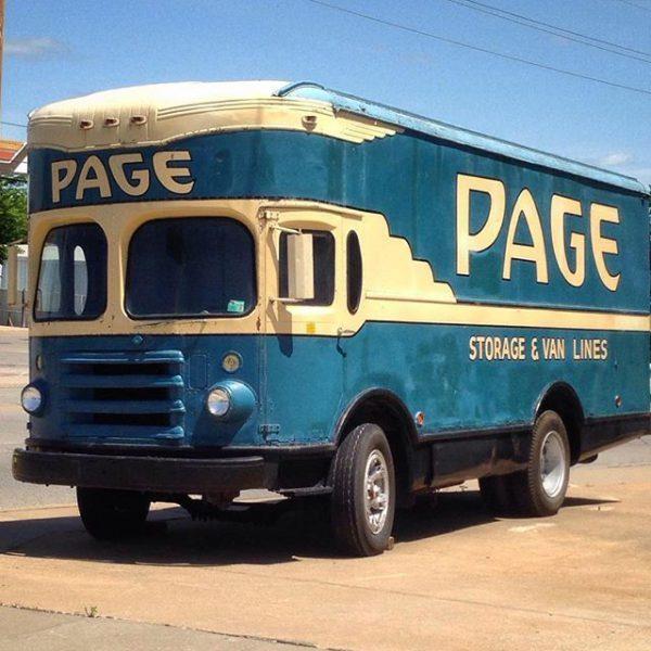 Mid-50's Fageol Super Freighter Van