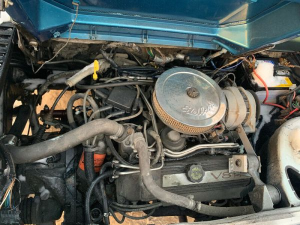 4.9L engine in Pontiac Fiero