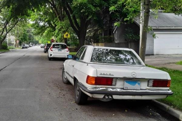 c. 1981 Mercedes-Benz 380SL