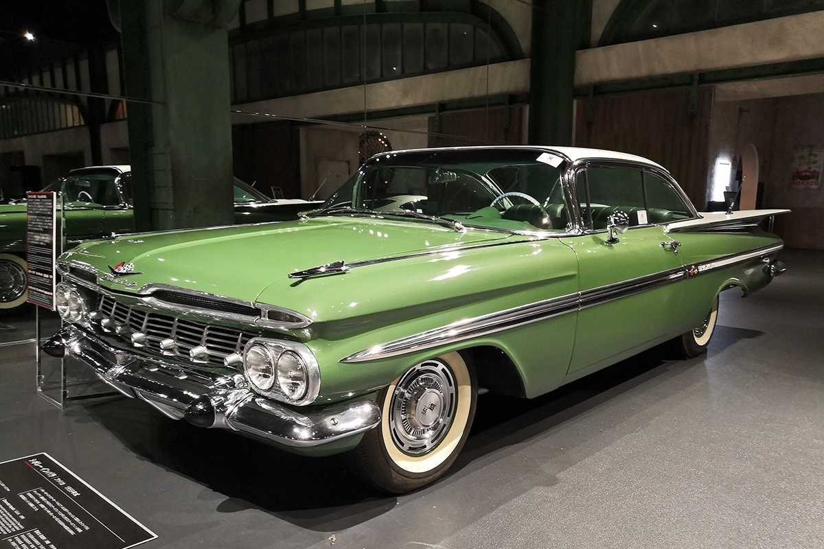 Museum Classic 1959 Chevrolet Impala Sport Coupe The Chevy Horror Picture Show Curbside Classic