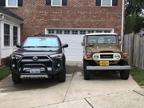 Toyota Land Cruiser and 4Runner