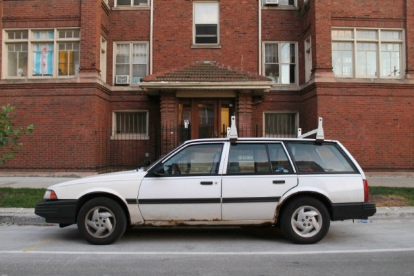 1994 Chevrolet Cavalier Wagon. Edgewater, Chicago, Illinois. Wednesday, September 2, 2020.