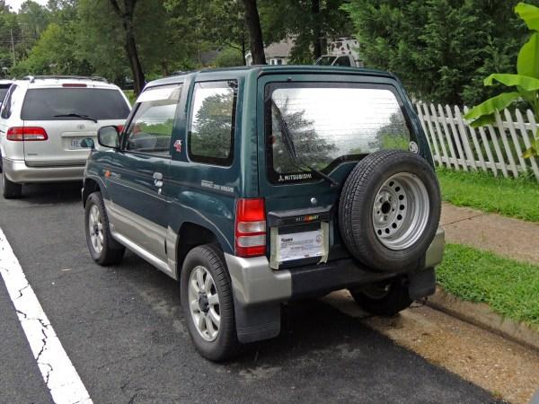1995 Mitsubishi Pajero Mini VR-II left rear