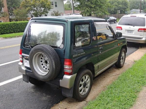 1995 Mitsubishi Pajero Mini VR-II right rear