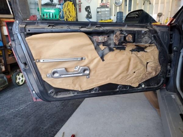 Door panel off