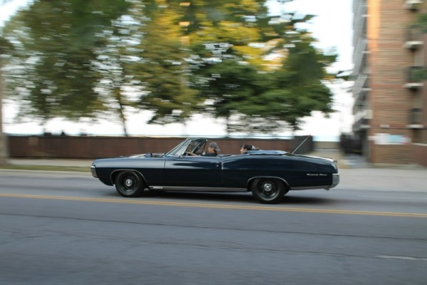 1967 Pontiac Grand Prix convertible. Edgewater, Chicago, Illinois. Sunday, October 11, 2020.