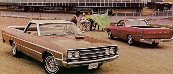 1969 Ford Ranchero brochure