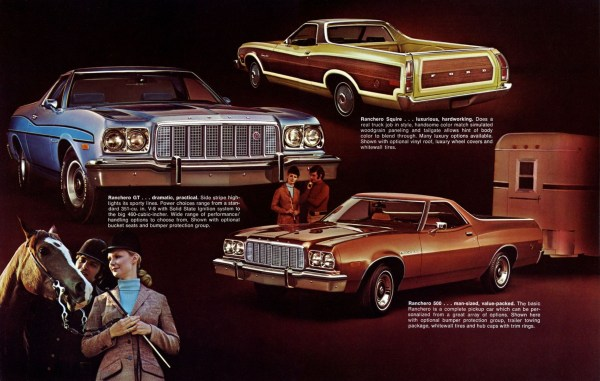1974 Ford Ranchero brochure