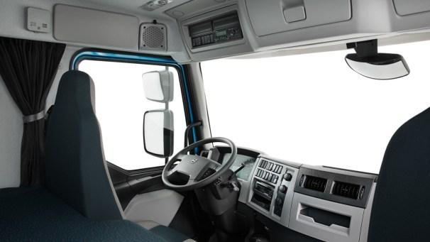 Volvo FE cab interior