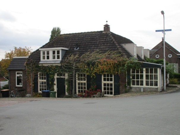 old house near embankment - 1