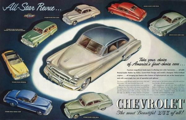 1949 Chevrolet ad
