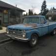 No, my '66 F100 isn't the only one of its kind still prowling the streets here. There's several still, and this is my current favorite, because it's blue, which just […]