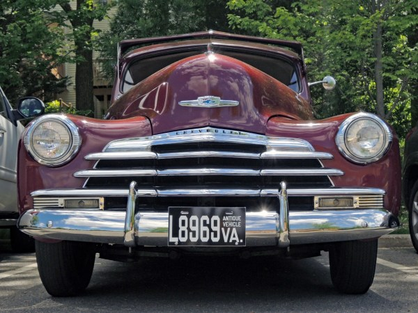 1947 Chevrolet Stylemaster front