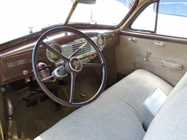 1947 Chevrolet Stylemaster interior