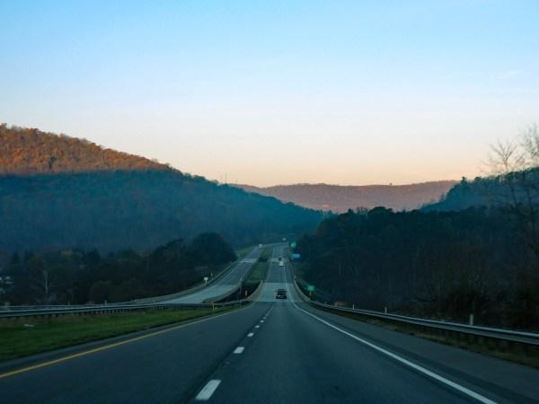 Maryland I-68 West
