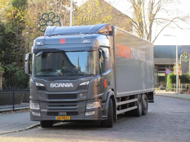Scania P280 6x2 box truck - 1