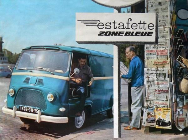 Renault Estafette Zone Bleue