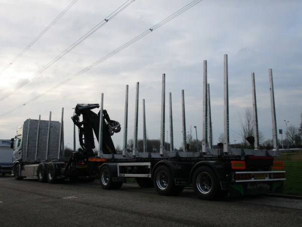 Scania R650 and GS full trailer - 2