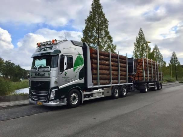 Volvo FH logging