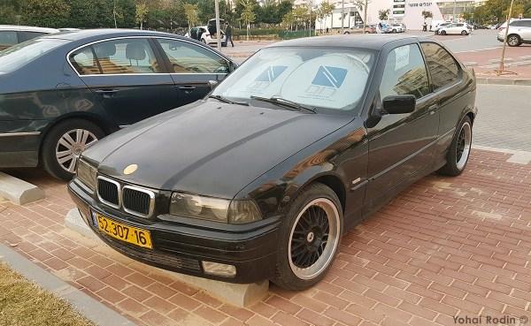 Black BMW Compact
