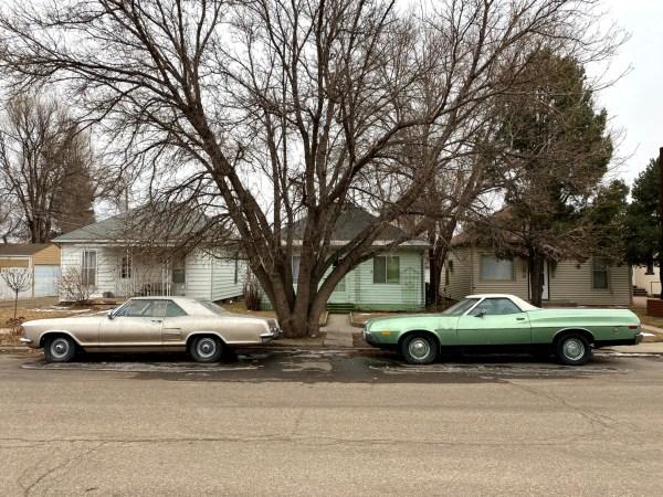 1964 Buick Riviera 1972 Ford Ranchero 500