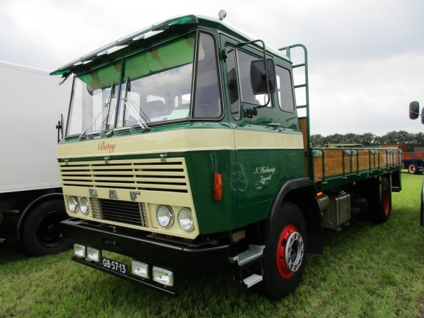 1974 DAF FA 2600 flatbed truck