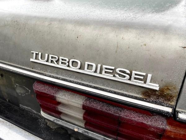 1984 Mercedes-Benz 300CD TurboDiesel