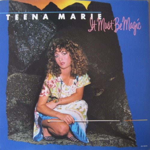 """Teena Marie's """"It Must Be Magic"""" album cover, as sourced from the internet."""