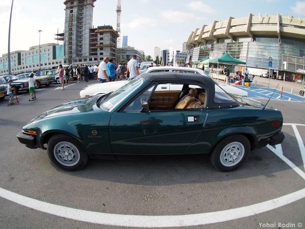 Green Triumph TR8 Convertible