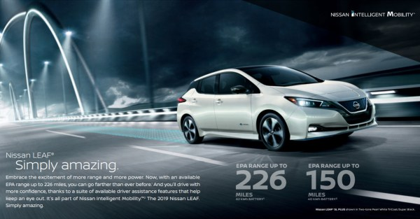 2019 Nissan Leaf brochure