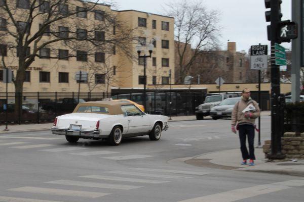 1985 Cadillac Eldorado.
