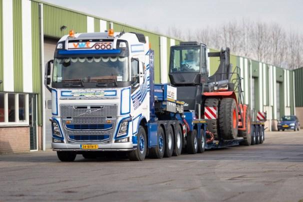 2015 Volvo FH16 750 8x4 VWT
