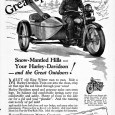"""I'm guessing motorcycle sales were pretty slow in the winter months (probably still are). So here's the pitch: """"Meet old King Winter man to man"""" on your 1928 H-D and […]"""