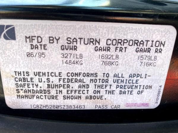 1995 Saturn SL1