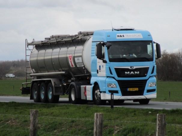 2019 MAN TGX 4x2 - tanker semi-trailer