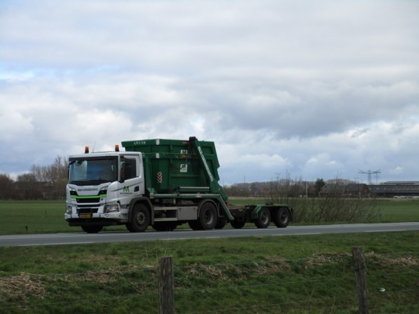 2019 Scania P320 XT container carrier