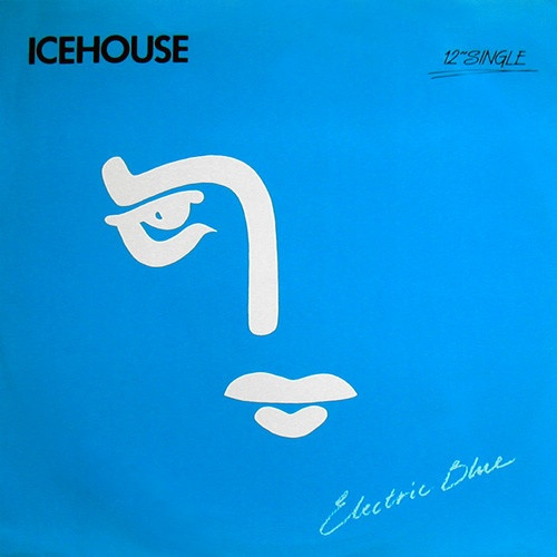 """The 12"""" single for Icehouse """"Electric Blue"""" (not my intellectual property)."""