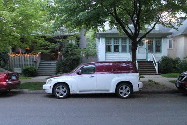 c. 2007 Chevrolet HHR. Edgewater Glen, Chicago, Illinois. Tuesday, June 8, 2021.