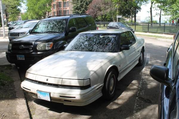 1991 Oldsmobile Toronado. Rogers Park, Chicago, Illinois. Sunday, May 30, 2021.
