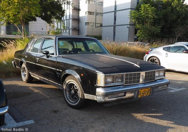 black oldsmobile cutlass supreme