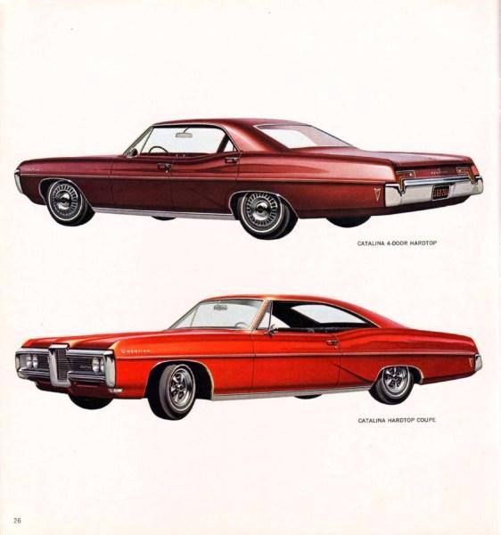 1968 Pontiac Catalina brochure photo.