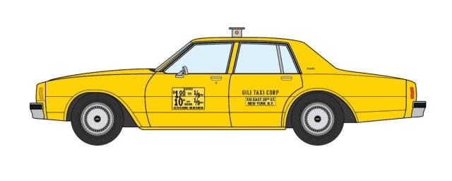1979 Chevrolet Impala NYC Taxi