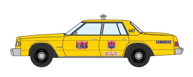 1979 Dodge St Regis NYC Taxi